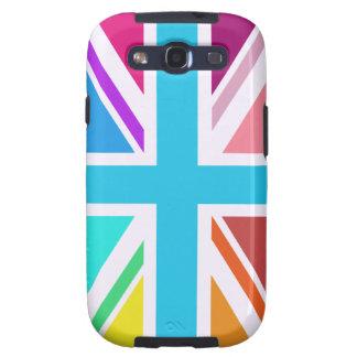 Union Flag/Jack Design - Multicoloured Galaxy SIII Case
