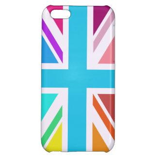 Union Flag/Jack Design - Multicoloured Cover For iPhone 5C