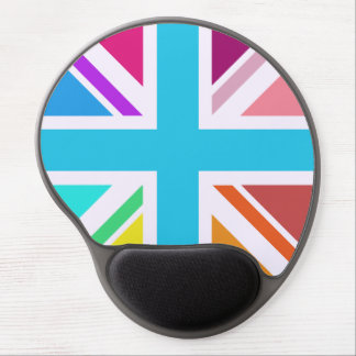 Union Flag/Jack Design - Multicoloured Gel Mouse Pad