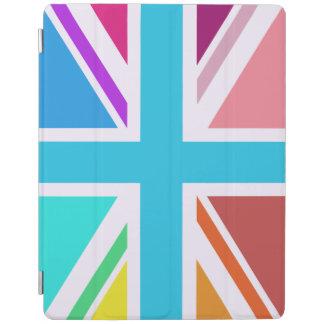 Union Flag/Jack Design – Multicoloured iPad Cover
