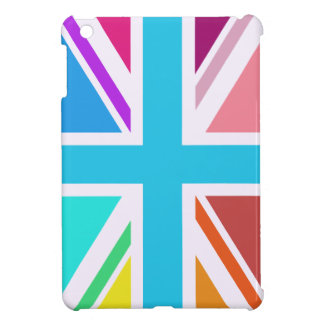 Union Flag/Jack Design - Multicoloured iPad Mini Case