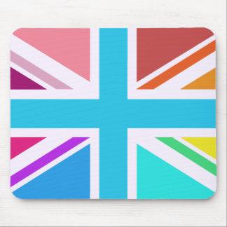 Union Flag/Jack Design - Multicoloured Mouse Mat