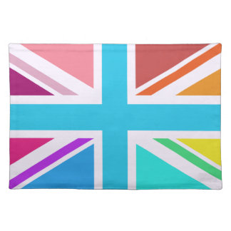 Union Flag/Jack Design - Multicoloured Placemat
