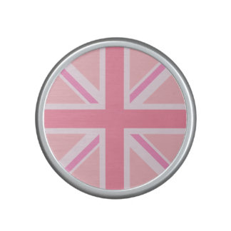 Union Flag/Jack Design Pinks Bluetooth Speaker
