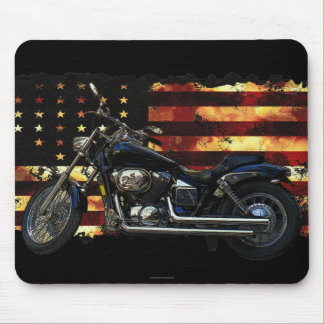 Union Flag, Stars and Stripes, Motorcycle Mousepad