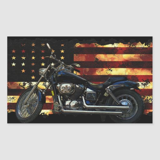 Union Flag, Stars and Stripes, Motorcycle Stickers
