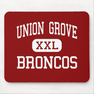 Union Grove - Broncos - High - Union Grove Mouse Pads