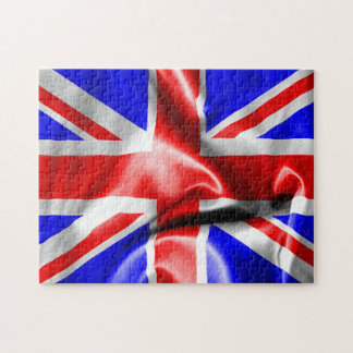 "Union Jack 11"" x 14"" Photo Puzzle with Gift Box"