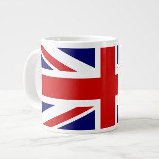 Union Jack 20 Oz Large Ceramic Coffee Mug