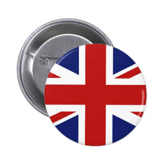 Union Jack 6 Cm Round Badge