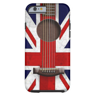 Union Jack Acoustic Guitar iPhone 6 Tough iPhone 6 Case
