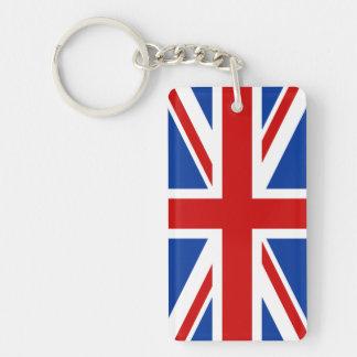 Union Jack Acrylic Keychain (Double Sided)