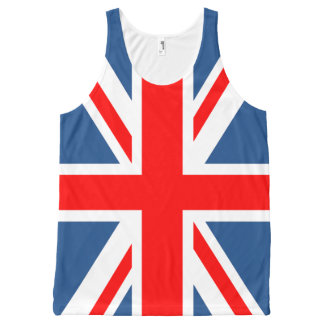 Union Jack All-Over Print Tank Top