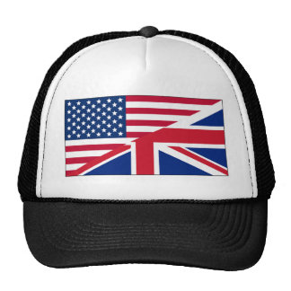Union Jack American Flag Pattern Stars Stripes Cap
