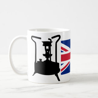 Union Jack and Paraffin pressure stove Coffee Mug