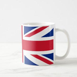 Union Jack Basic White Mug
