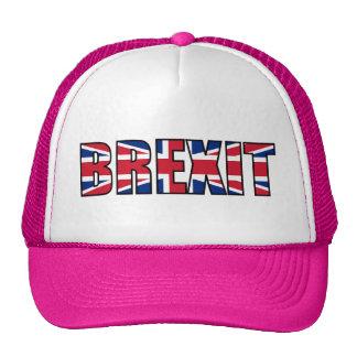 Union Jack Brexit, White Pink Cap