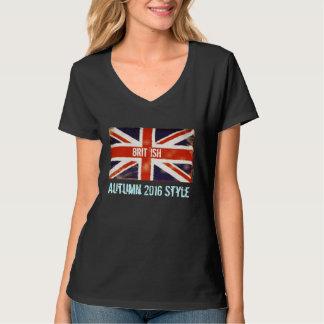 Union Jack Brit 'Ish Autumn 2016 Style T-Shirt