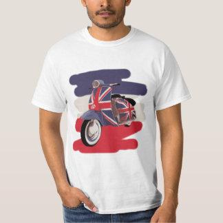 Union Jack Brit scooter T-Shirt