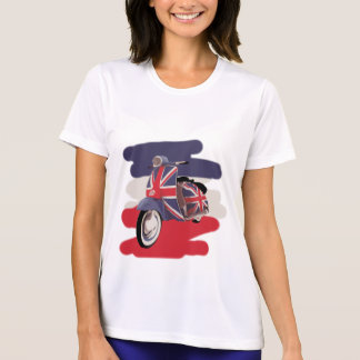 Union Jack Brit scooter T-Shirt