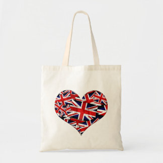 Union Jack British England UK Flag Tote Bag