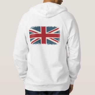 Union jack british flack hoodie shirt