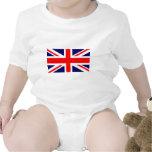 Union Jack British Flag Baby Creeper