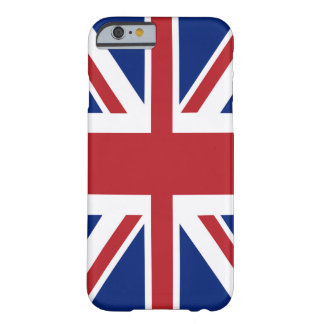 Union Jack British Flag Barely There iPhone 6 Case