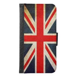 Union Jack British Flag Galaxy S6 Wallet Case