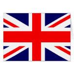Union Jack British Flag Greeting Card