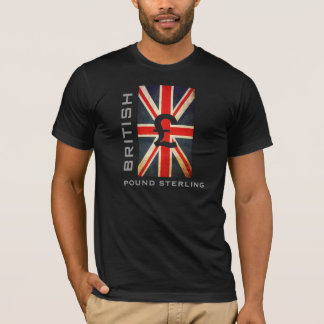 Union Jack British Pound Sterling T-Shirt