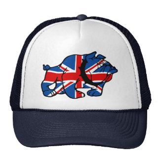 Union Jack Bulldog Mesh Hats