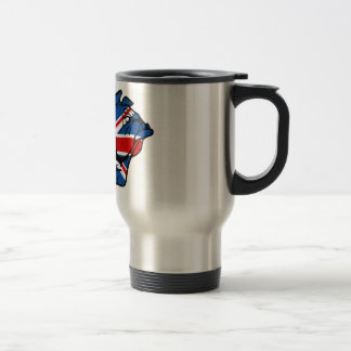 Union Jack Bulldog Travel Mug