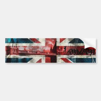 Union Jack Bumper Sticker! Bumper Sticker