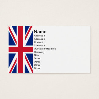 Union Jack Business Card
