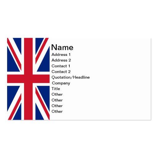Union Jack Business Cards