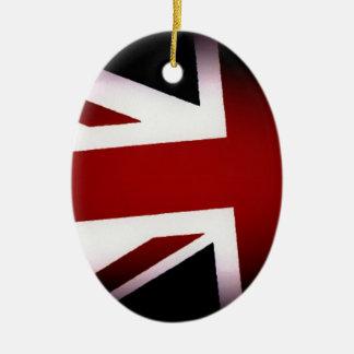 Union Jack Christmas Ornament