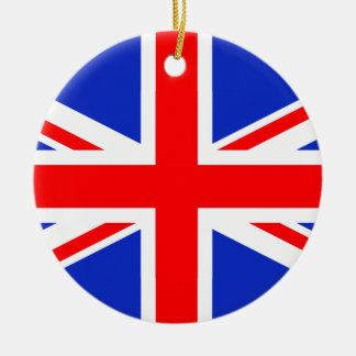 """UNION JACK"" CHRISTMAS ORNAMENT"