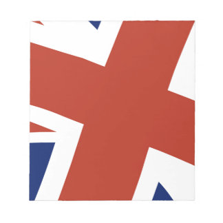 Union Jack Close Up Notepads