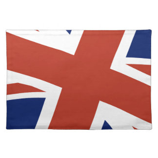 Union Jack Close Up Placemat