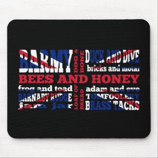 Union Jack, cockney rhyming slang Mouse Mat