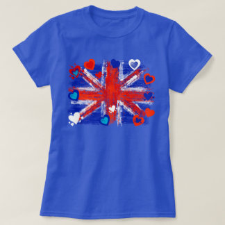 union jack,cool union jack,love united kingdom T-Shirt