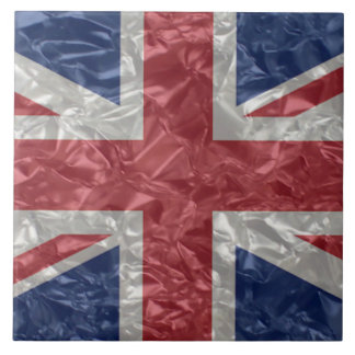 Union Jack - Crinkled Tile