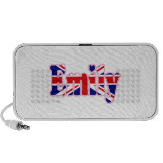 Union Jack cutout Emily iPod Speakers