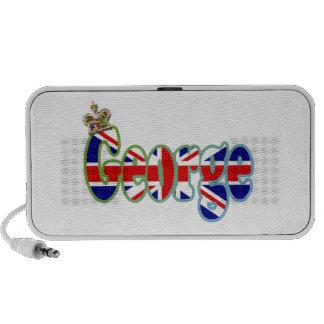 Union Jack cutout George iPod Speakers