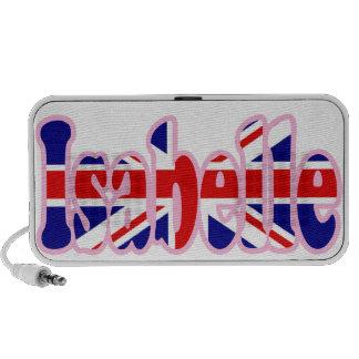 Union Jack cutout Isabelle iPod Speakers