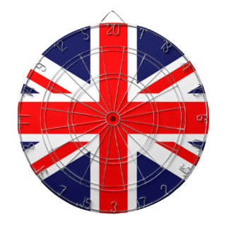 Union Jack Dartboard