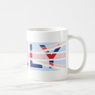 Union Jack design, Kelly Coffee Mug