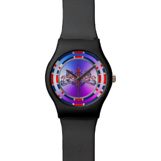 Union Jack Dieu Mon Droit British Coat Arms Watch