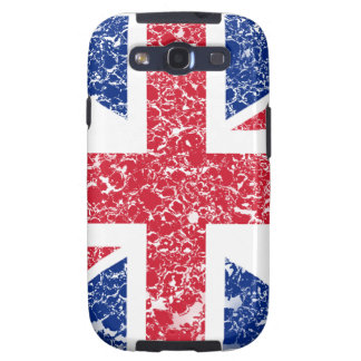 Union Jack Distressed Galaxy SIII Covers